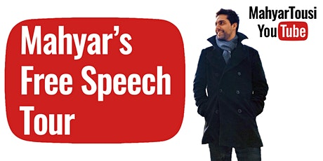 Mahyar's Free Speech Tour (Manchester) tickets