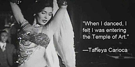 Taller de empoderamiento femenino en la danza oriental : Estilo Meyance tickets
