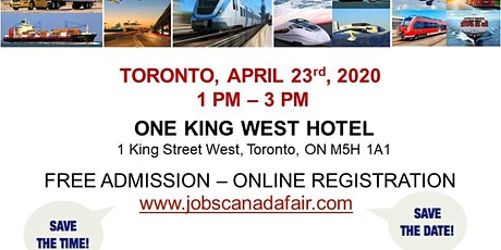 Toronto Transportation Job Fair - April 29th, 2020 tickets