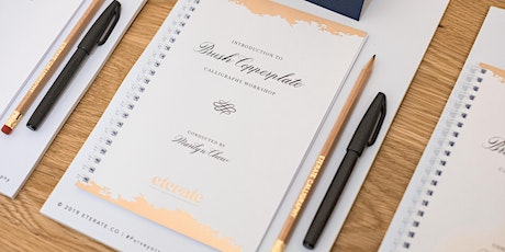GuestJam: Introduction to Brush Pen Calligraphy with Eterate Co - POSTPONED tickets