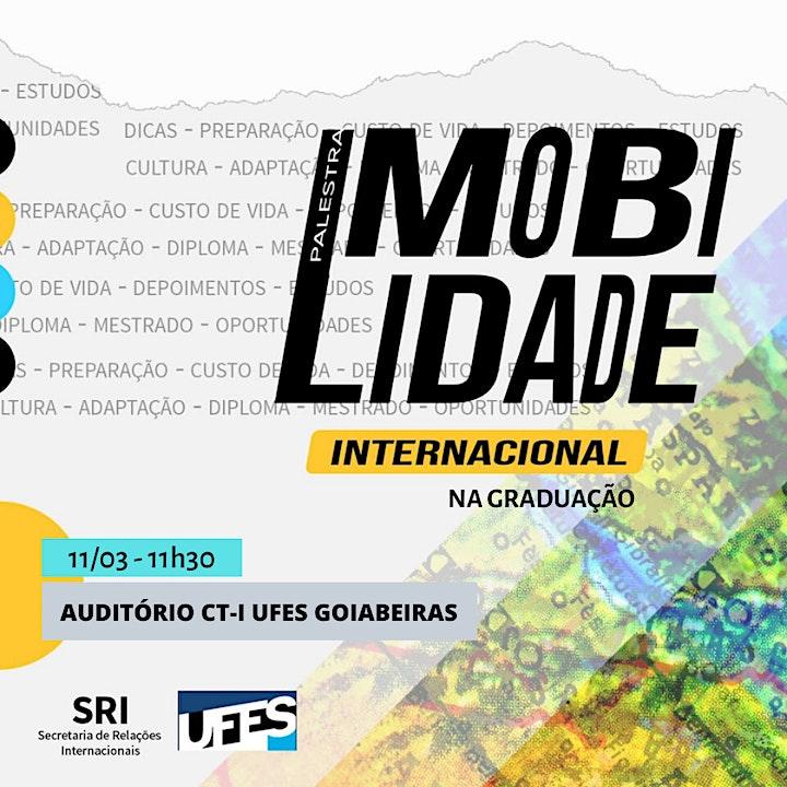 Imagem do evento Palestra sobre Mobilidade Internacional na Graduação