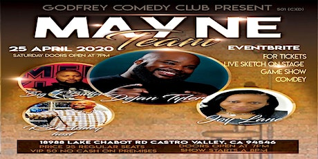 Godfrey Comedy Club Presents ( The Mayne Team ) ......Surviving Depression tickets