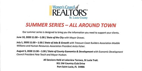 "Summer Series - All Around Town  "" State of County Economics & Development tickets"