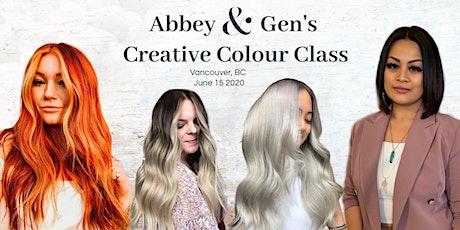 Abbey & Gen's Creative Colour Class Look & Learn tickets
