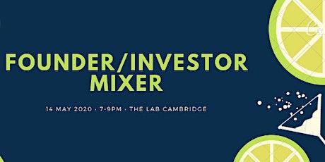 Founder/Investor Mixer tickets