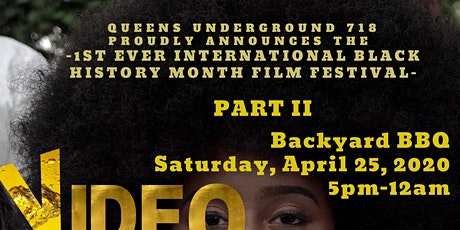 Film Festival - **ONLINE**     1st Ever Black History  PART 2 tickets