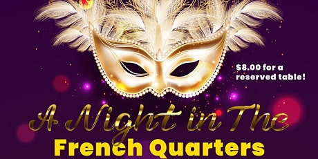 A Night in the French Quarters tickets