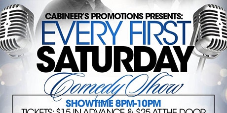 Every First Saturday Comedy Show tickets