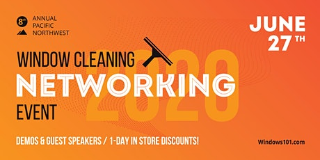 2020 Window Cleaning Networking Event tickets