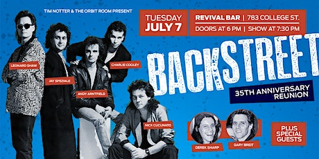 Backstreet 35th Anniversary Reunion tickets