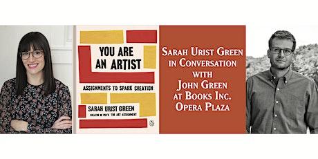 *CANCELLED* Sarah & John Green at Books Inc. Opera Plaza tickets