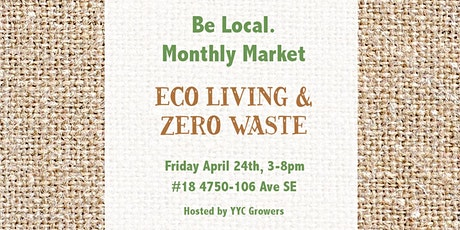 Be Local. Monthly Market tickets