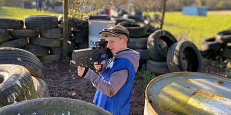 Outdoor Laser Tag - PAY & PLAY tickets
