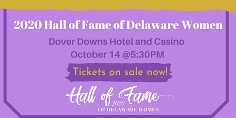 2020 Delaware Women's Hall of Fame Awards Reception   tickets
