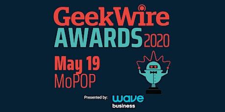 GeekWire Awards 2020 tickets