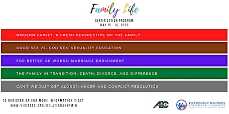 Family Life Certification Program tickets