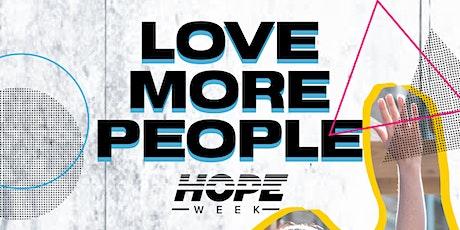 Hope Week Volunteer tickets