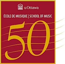 École de musique de l'Université d'Ottawa / School of Music, University of Ottawa logo