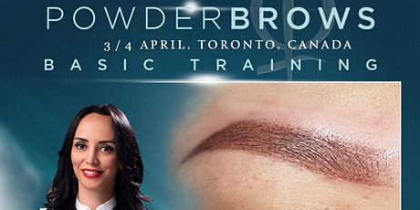Powder Brows Basic Training April 2020 tickets
