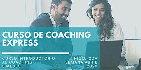"""""""Coaching Express"""" - Seminario Inicial Gratuito entradas"""