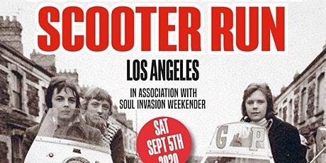 Soul Invasion Scooter Run + Westside 20 year Anniversary Ride tickets