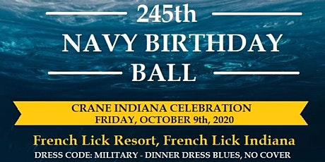 2021 Crane Navy Ball  tickets