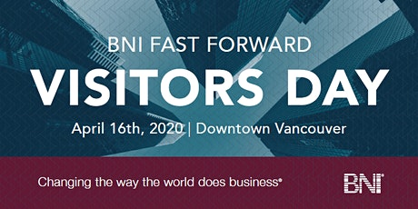 April 16, 2020 BNI Visitor's Day tickets