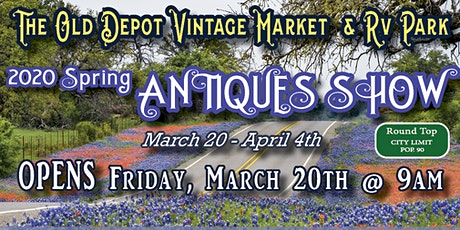 2020 Round Top Spring Antiques Show tickets