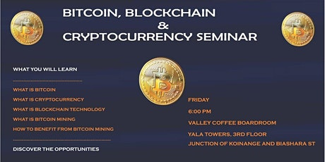 Understand Blockchain , Bitcoin and Other Cryptocurrencies tickets