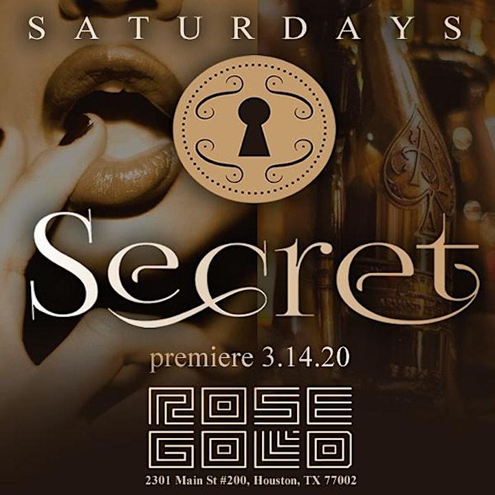 SATURDAY'S SECRET AT ROSE GOLD COCKTAIL DEN....BRINGING SEXY BACK! image