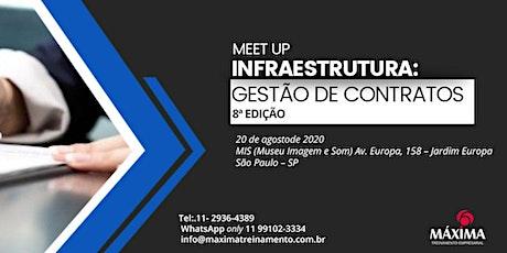 MEET UP: INFRAESTRUTURA  - Gestão de Contratos 8ª edição ingressos