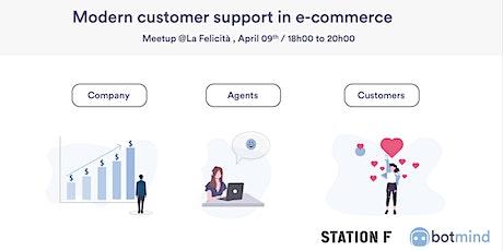 STATION F startup meetup: Le support client moderne dans l'e-commerce. tickets