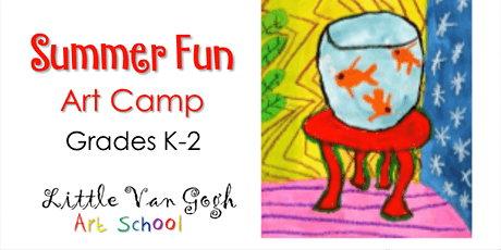 Summer Fun Art Camp  Grades K-2 tickets