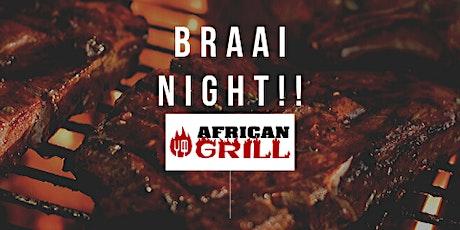 Braai Night tickets