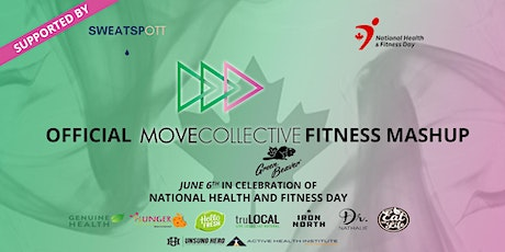 MoveCollective Fitness Mashup - National Health and Fitness Day tickets
