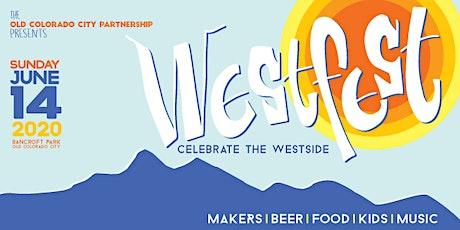 2020 OCC WestFest Vendor Application tickets