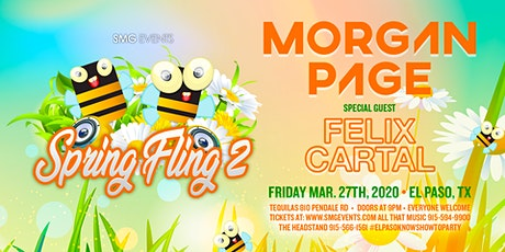 SPRING FLING 2 Feat. MORGAN PAGE and FELIX CARTAL tickets