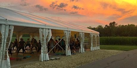 Sunset Yoga + Wine at the Weingarten tickets