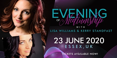 Evening Of Mediumship with Lisa Williams and Kerry tickets
