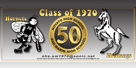 Novato High & San Marin High Classes of 1970 50 Year Reunion tickets