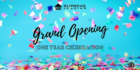 One Year Grand Opening Anniversary Celebration! tickets