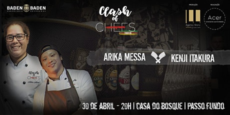 Clash os Chefs Tour RS EVENTO TEMPORARIAMENTE SUSPENSO MOTIVO #COVID19 ingressos