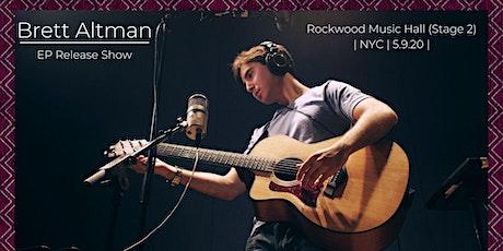 Brett Altman EP Release Show tickets