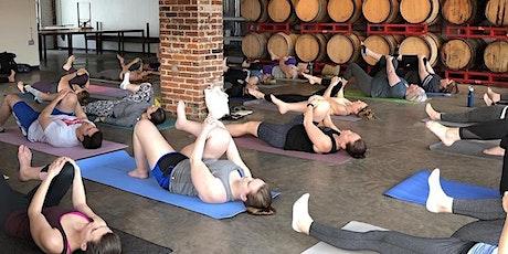 Yoga + Beer at UCBC Barrel Room tickets
