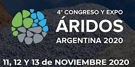 4° Congreso Argentino de Áridos entradas