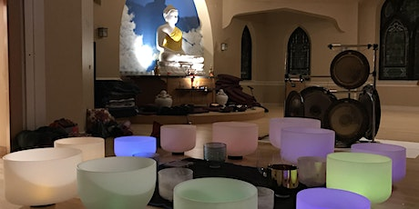 Crystal Singing Bowls and Gong Meditation with Diamond and Mark tickets