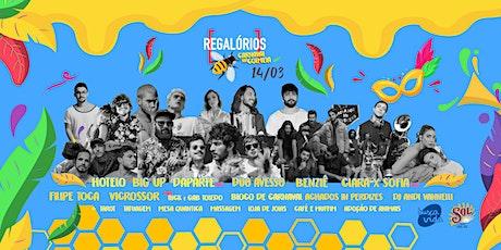 Regalórios - Carnaval na Colmeia! ingressos