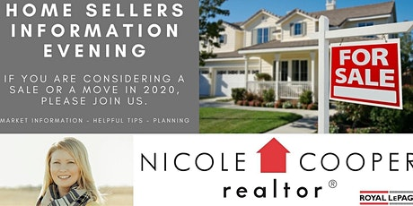 FREE Home Sellers Information Seminar - March 31 6:30-8:30pm tickets