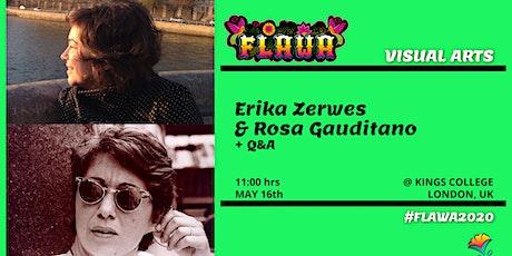 Erika Zerwes & Rosa Gauditano / Talk / FLAWA tickets