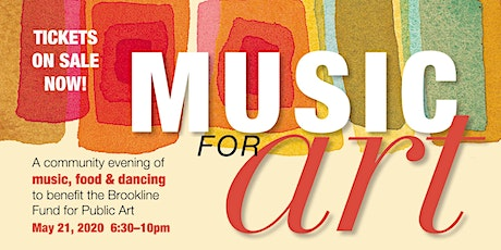 Music for Art: an evening of world music, food & dancing to benefit the Brookline Fund for Public Art tickets